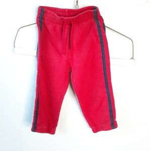 Jumping Beans Red Sweatpants Size 24 month